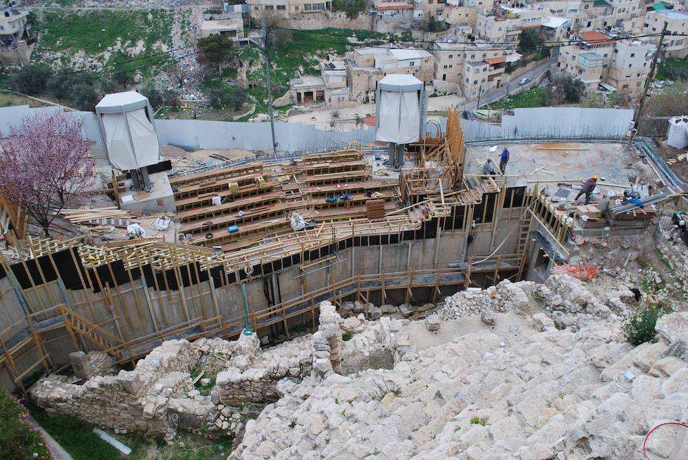 Viewing Platform City of David