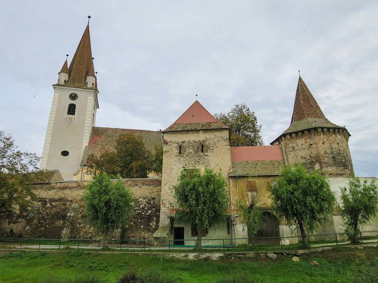 Cristian fortified church