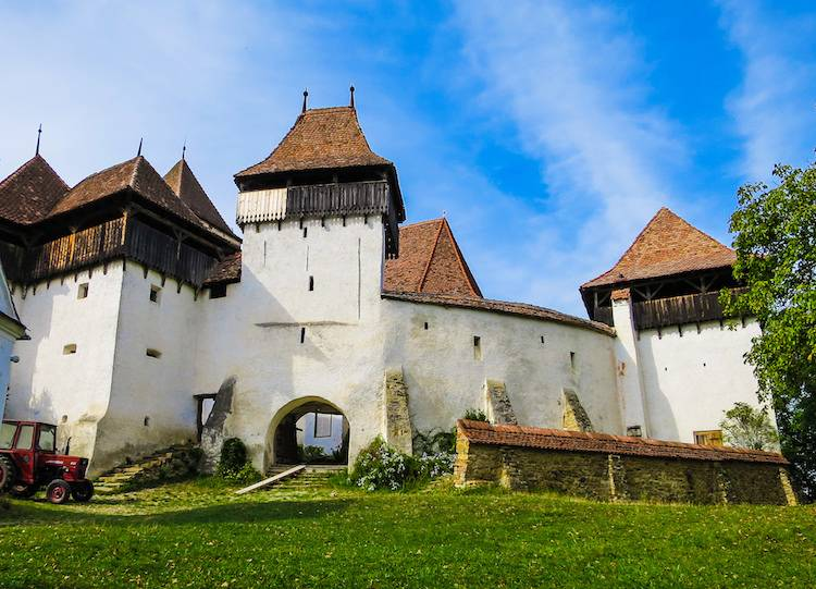 Viscri Fortified Church Transylvania, by Stefan