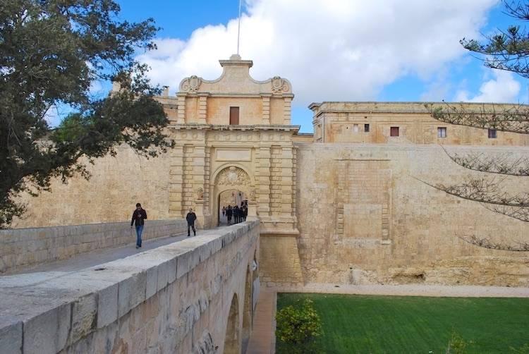 Malta Sightseeing Mdina Gate
