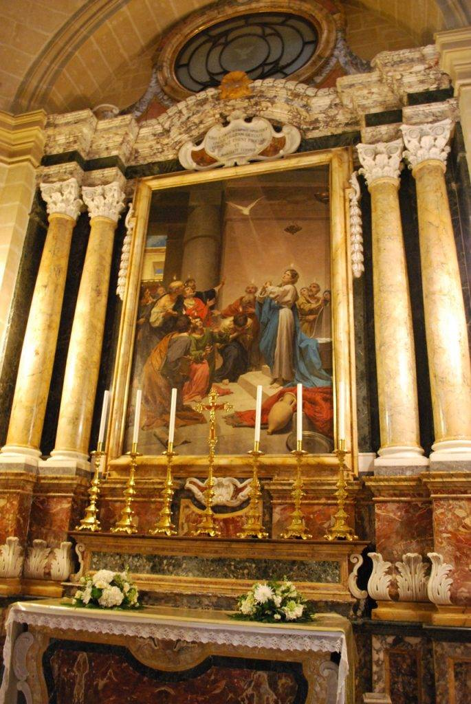 Side Chapel St Pauls Cathedral Mdina