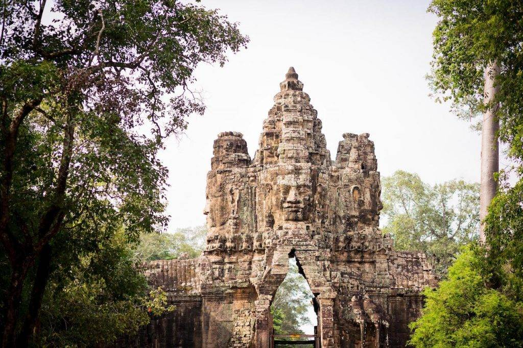 South Gate into the Angkor Tom Complex