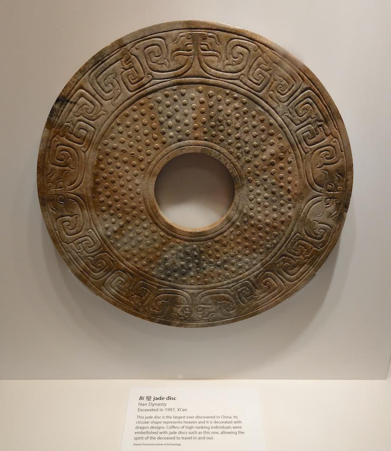 Jade Disc Han Dynasty