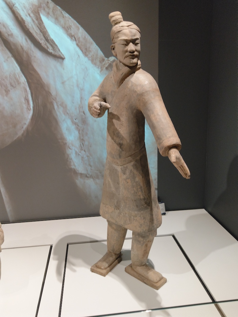 Standing Archer Terracotta Warriors Liverpool Exhibition