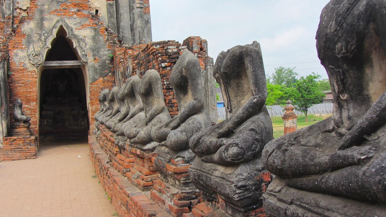 Wat Chai Wattanaram temple Ayutthaya