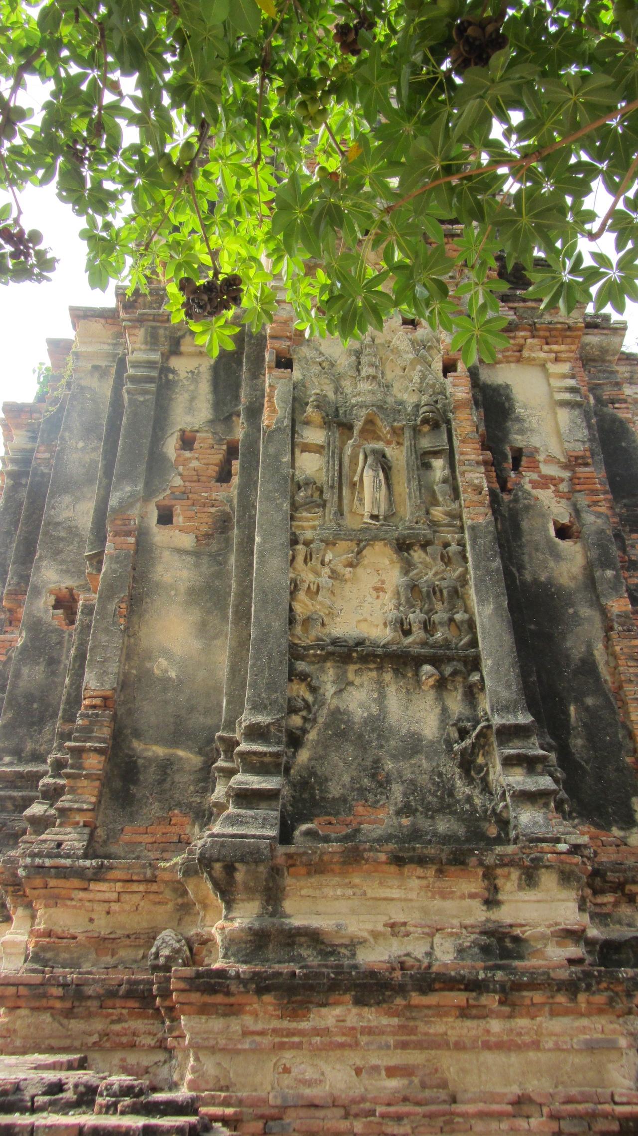 Stucco Wat Chai Wattanaram