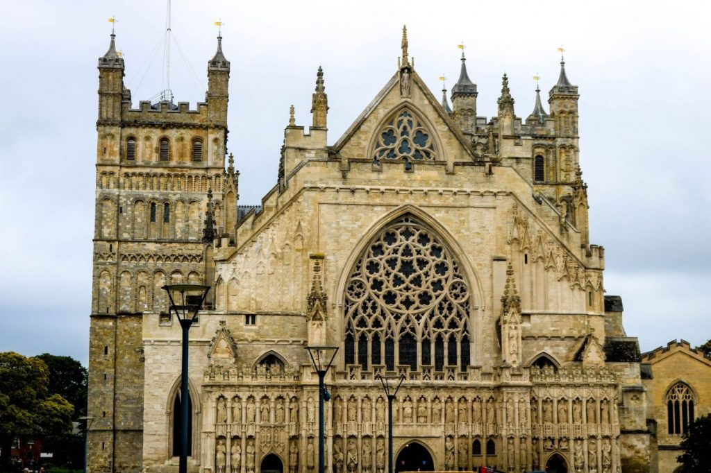 English Cathedral Cities - Exeter Cathedral