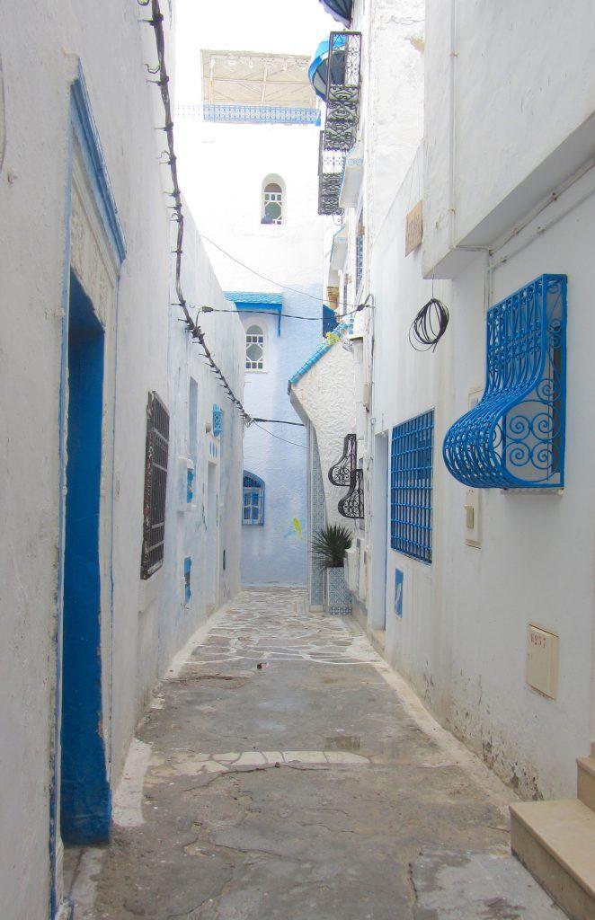Streets Kasbah Hammamet