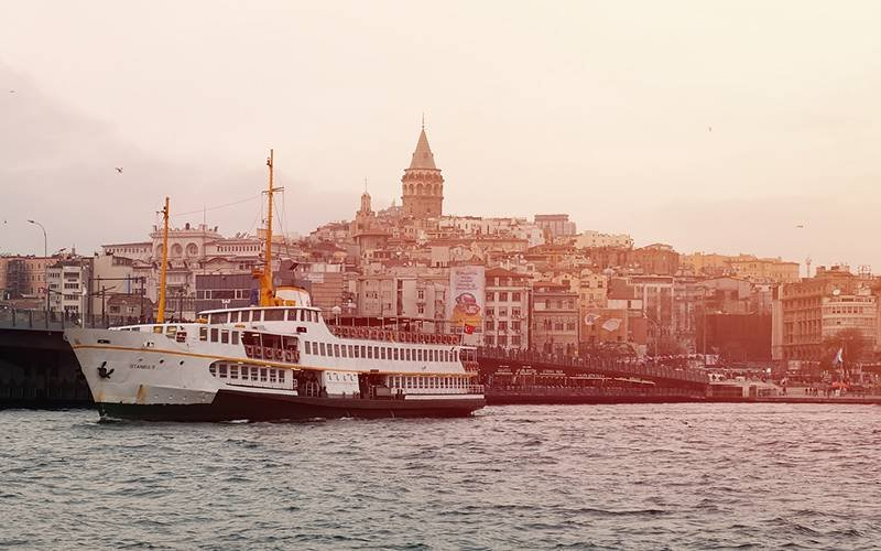 Taking the Boat to Princes Islands Istanbul