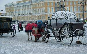 Highlights of Snowy St Petersburg, Russia