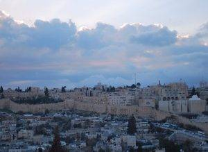 Jerusalem Sunset from the Panorama Hotel