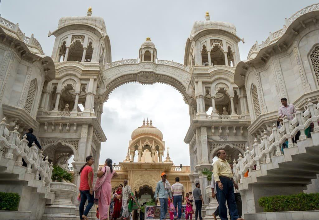 Mathura ISKCON Hare Krishna temple Krishna birth place