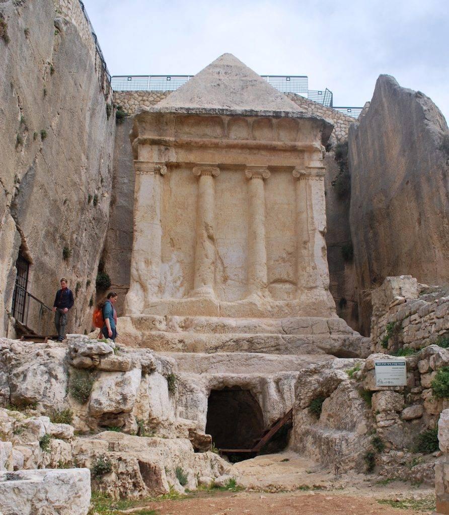 Tomb of Zechariah in Kidron Valley