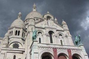 Sacre Coeur and Churches of Monmartre, Paris