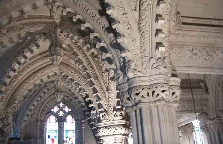 Rosslyn Chapel Da Vinci Code Carvings