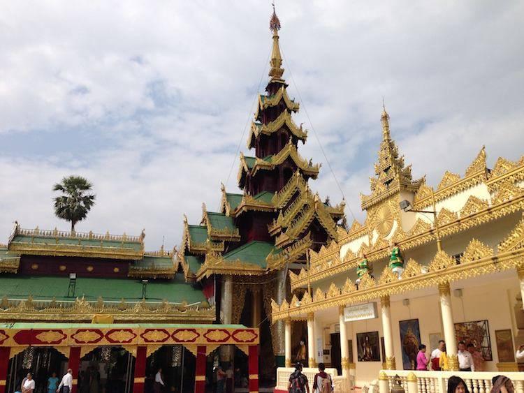 Shwedagon Pagoda Burma Myanmar