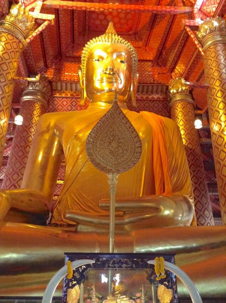 Gold Leaf Seated Buddha Mandalay
