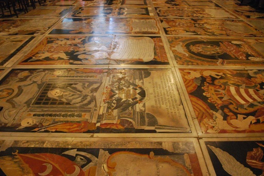 Floor CoCathedral Valletta
