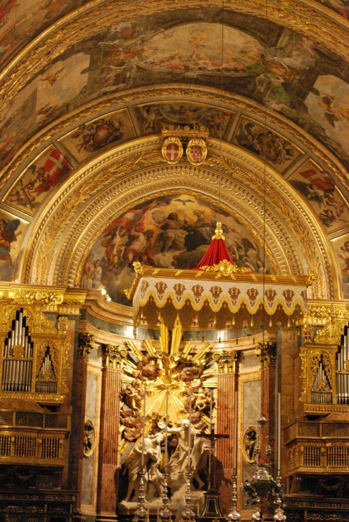 Side Chapel CoCathedral Valetta