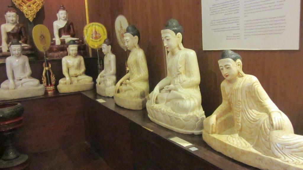 White Jade Buddha collection