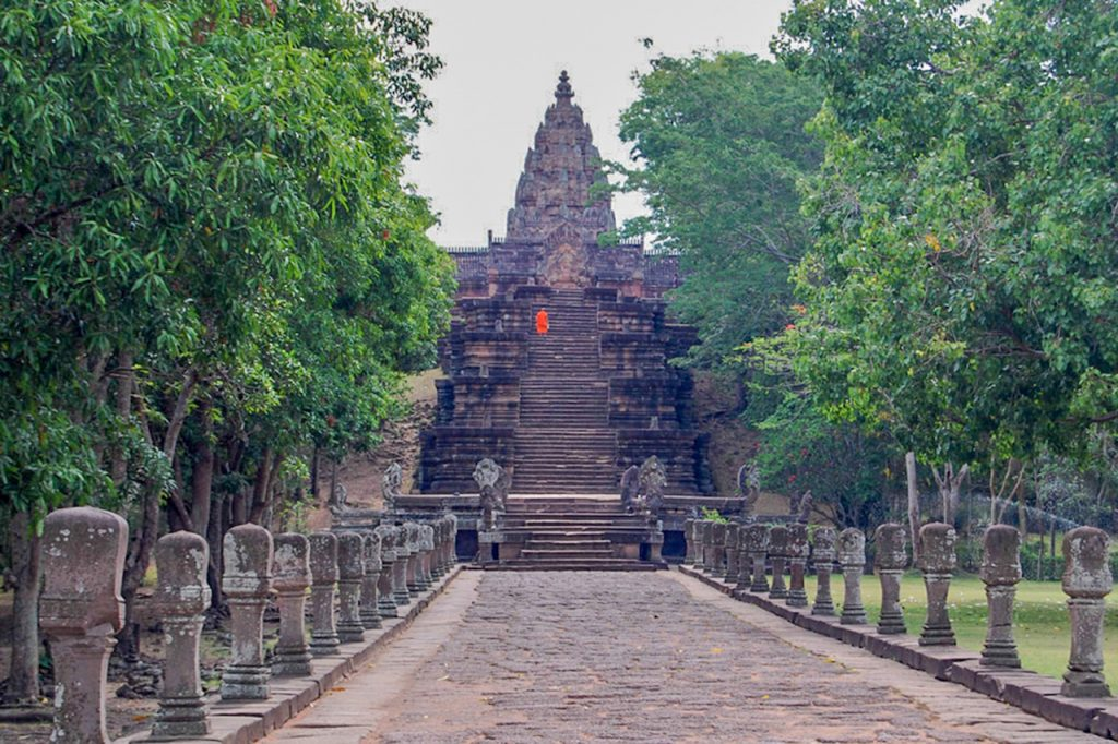 Phanom Rung Asian temple