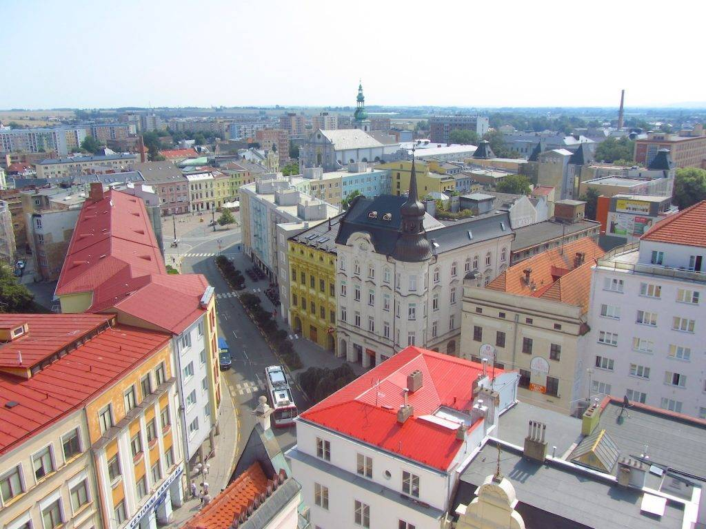 Opava from above