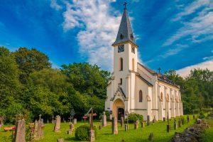 Zvonková – Church of St. John of Nepomuk
