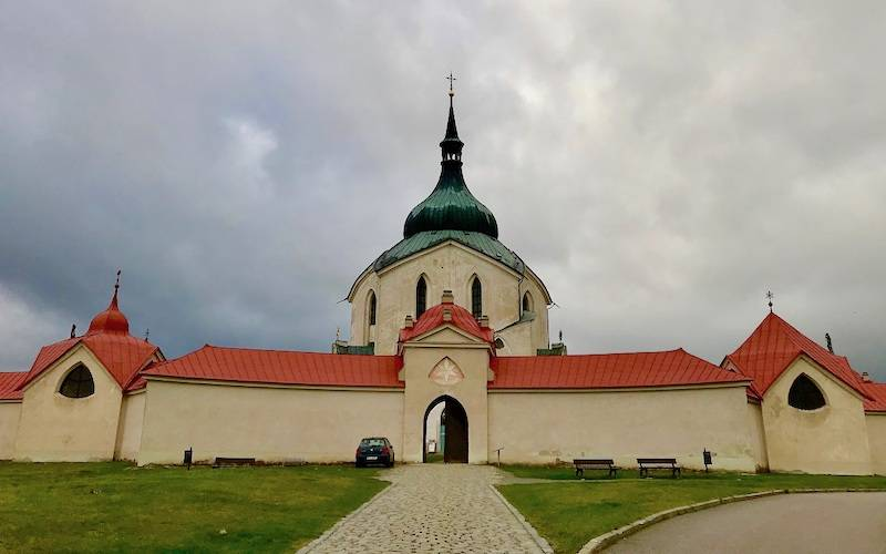 Zelena Hora Pilgrimage Church Of St John Of Nepomuk