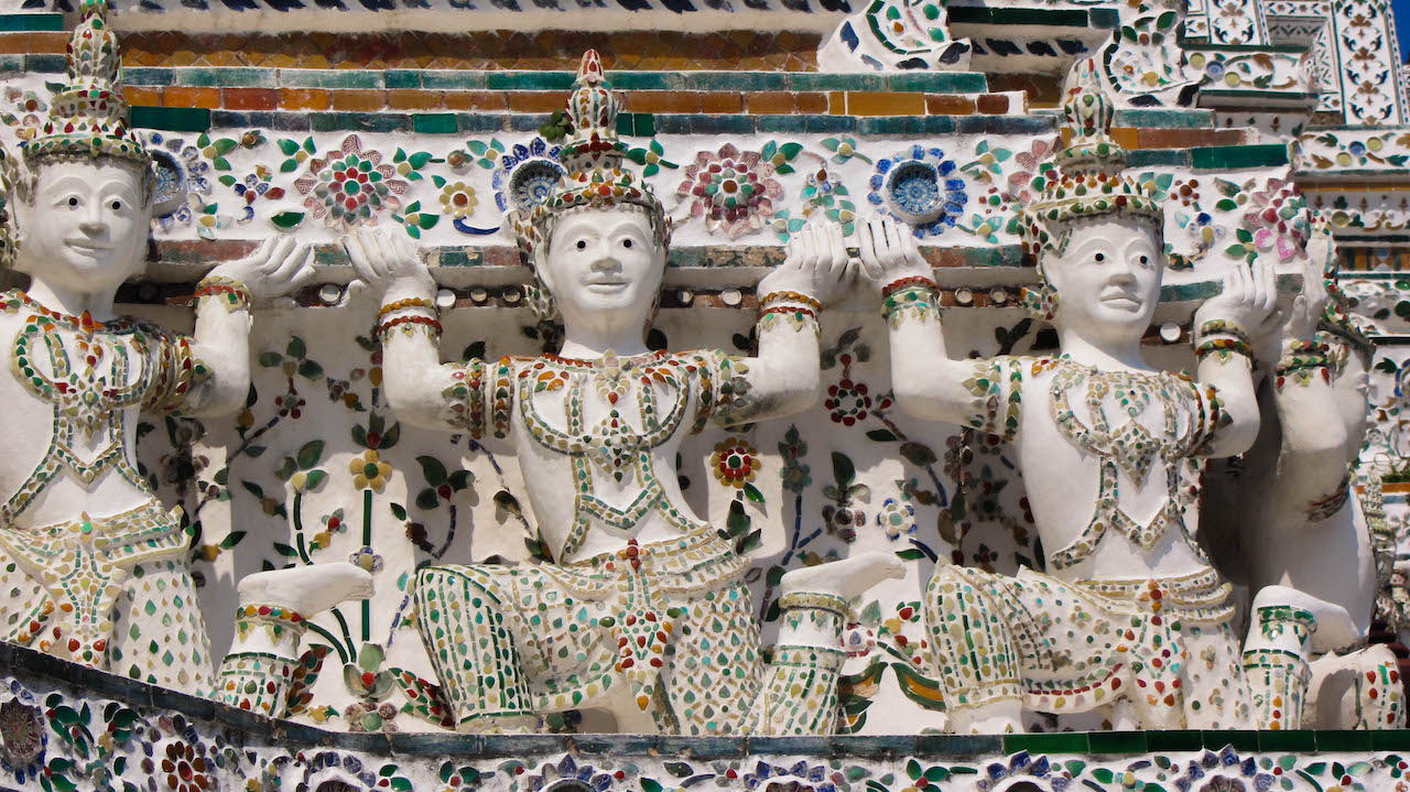 Wat Arun Ceramic Tiles