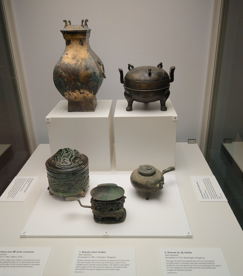 Ancient Chinese Cooking pots