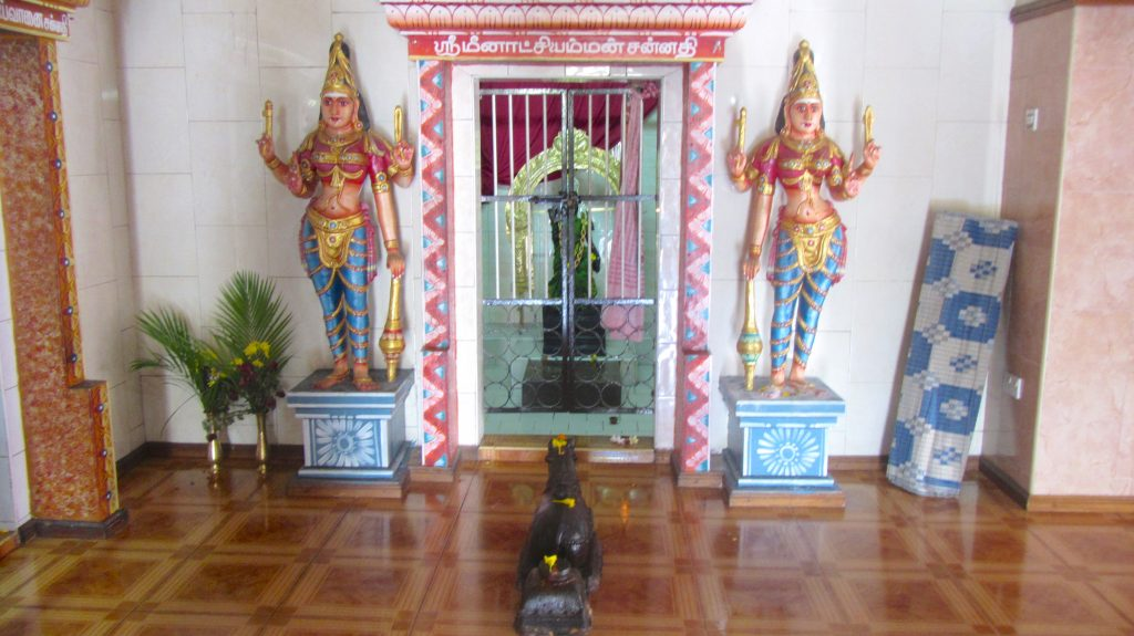 Shrine inside Sockalingum Meenatchee Ammen Kovil