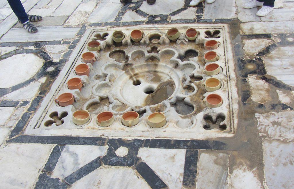 Irrigation system at Kairouan Grand Mosque