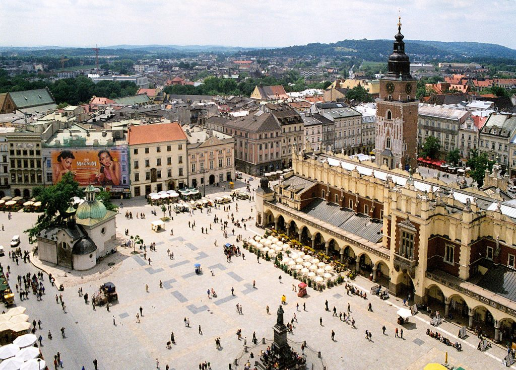 Krakow Square from Above
