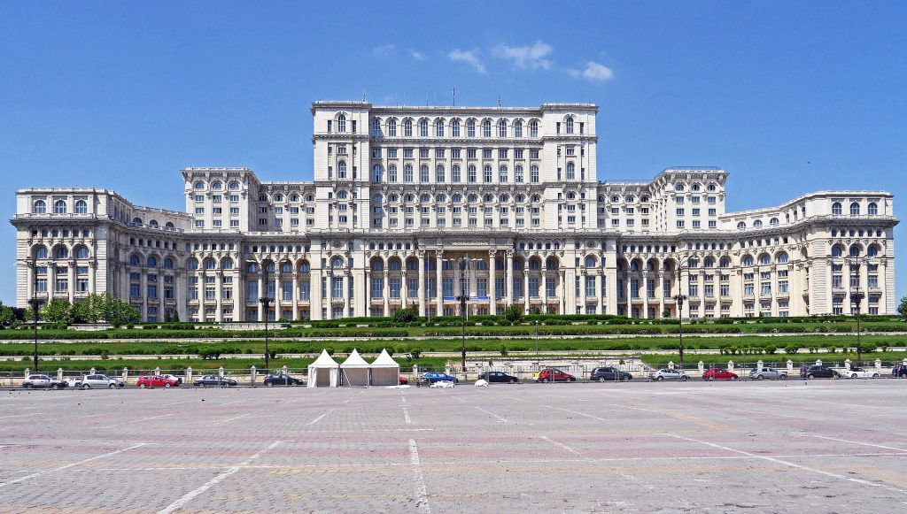 Palace Of Parliament Bucharest