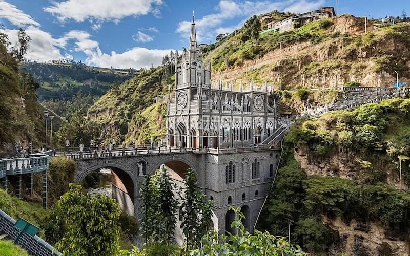 Santuario de las Lajas Church Colombia