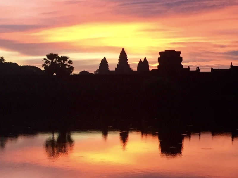 Angkor Wat Sunrise Go Live Young