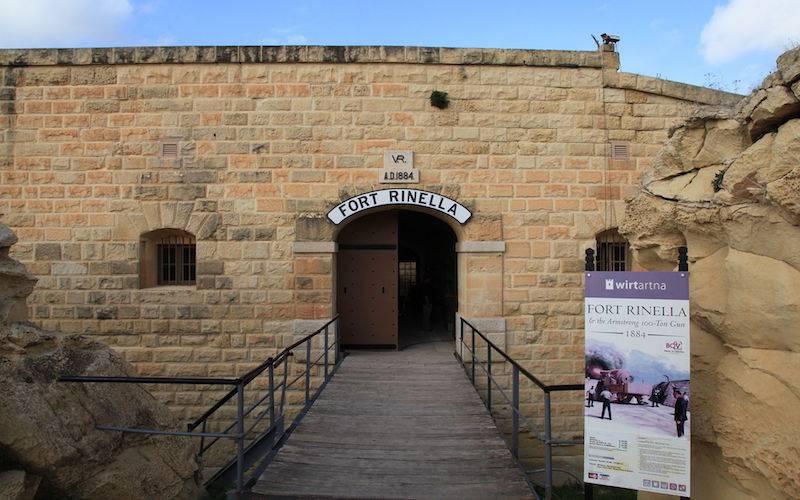 Fort Rinella Malta