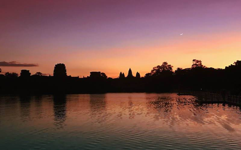 Angkor Wat Sunrise – Photo Essay