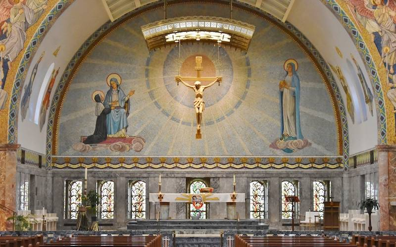 Experiencing the Beautiful St. Elizabeth Ann Seton Shrine