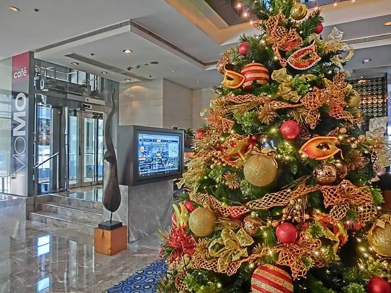 Hong Kong Marriott Christmas Tree