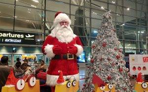 Flight on Christmas day