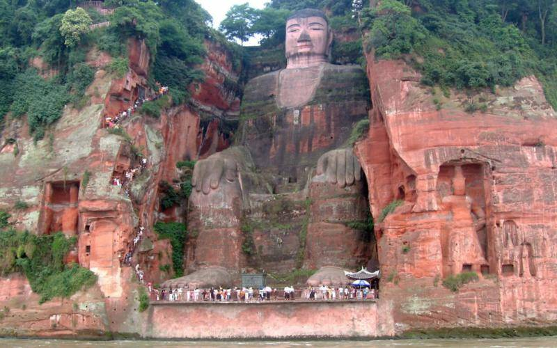 Biggest Buddha in the World: Leshan Buddha, Sichuan, China