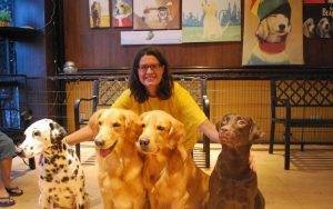 Barkin Blends Dog Café in Manila