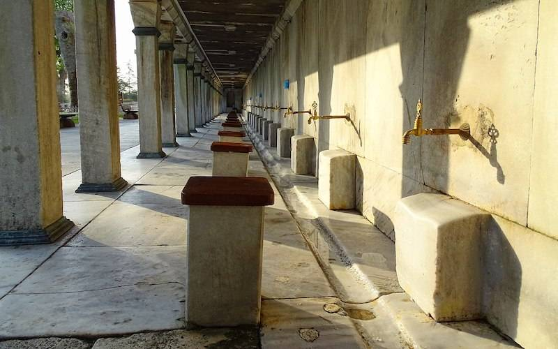Blue Mosque Ablutions