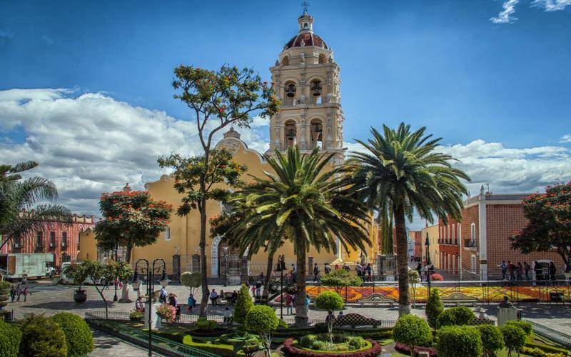 Puebla Travel – Colonial Buildings