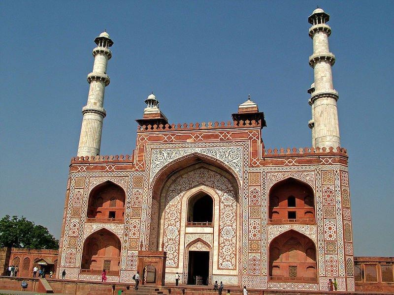 Akbars Tomb Sikandra Agra