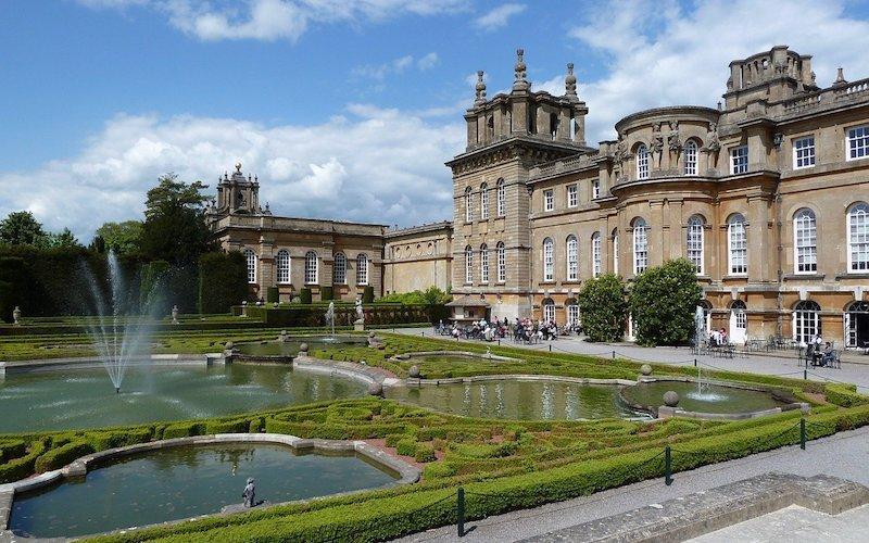 Blenheim Palace Fountains