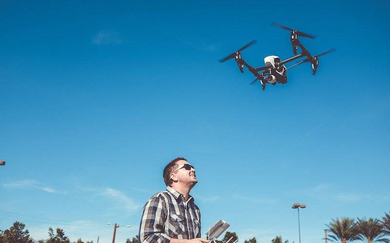 best travel gifts for him - a drone