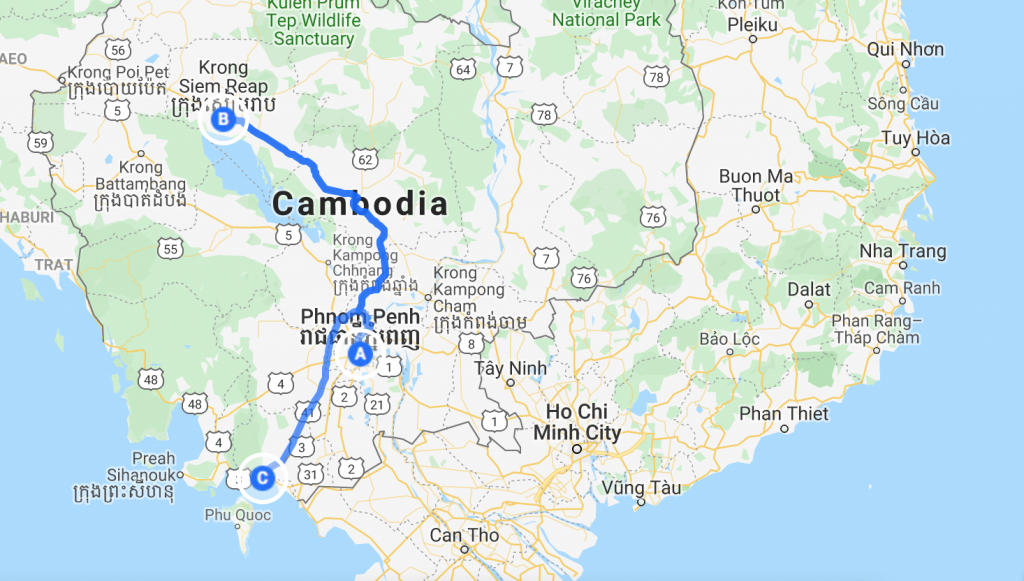 Cambodia Itinerary 7 days