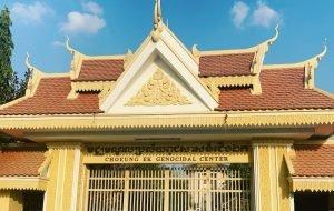 Taking the Phnom Penh Killing fields Tour